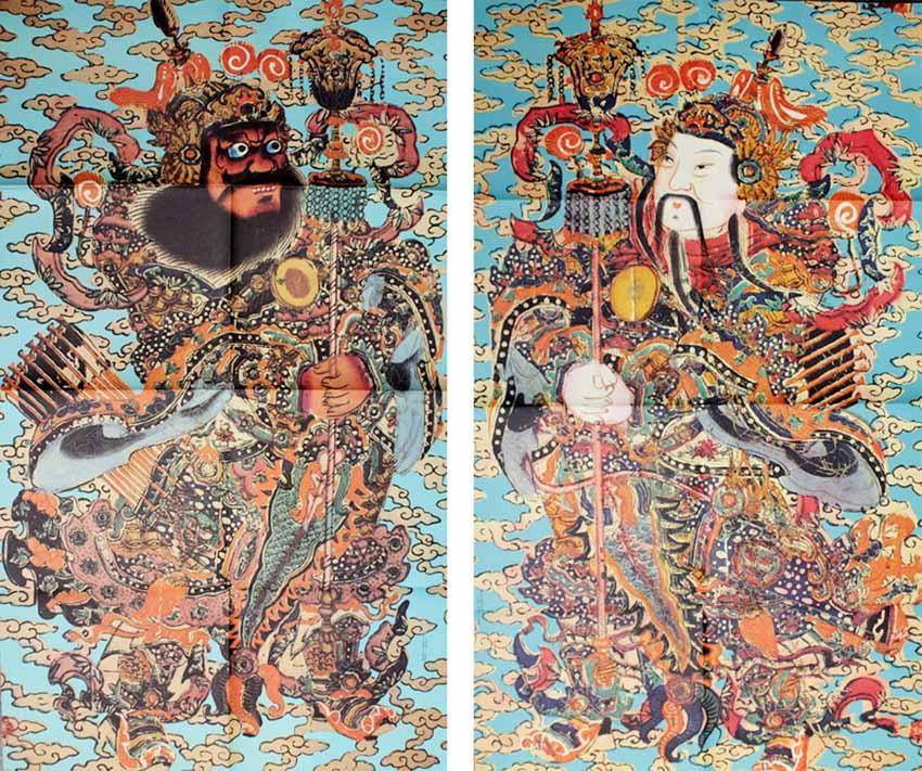 Môn thần trong văn hóa Trung Hoa - 3