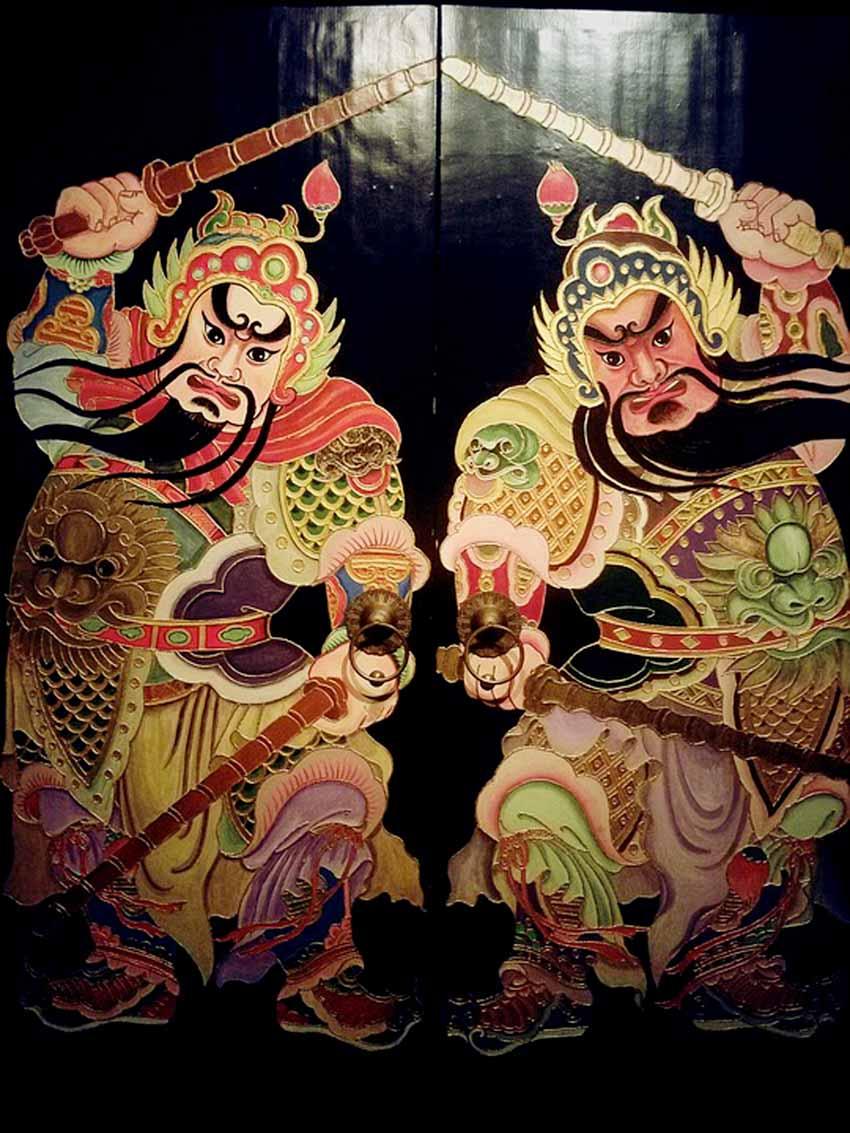 Môn thần trong văn hóa Trung Hoa - 5