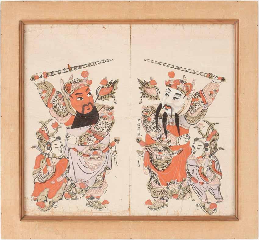 Môn thần trong văn hóa Trung Hoa - 7