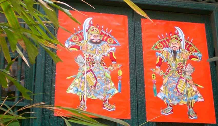 Môn thần trong văn hóa Trung Hoa - 8