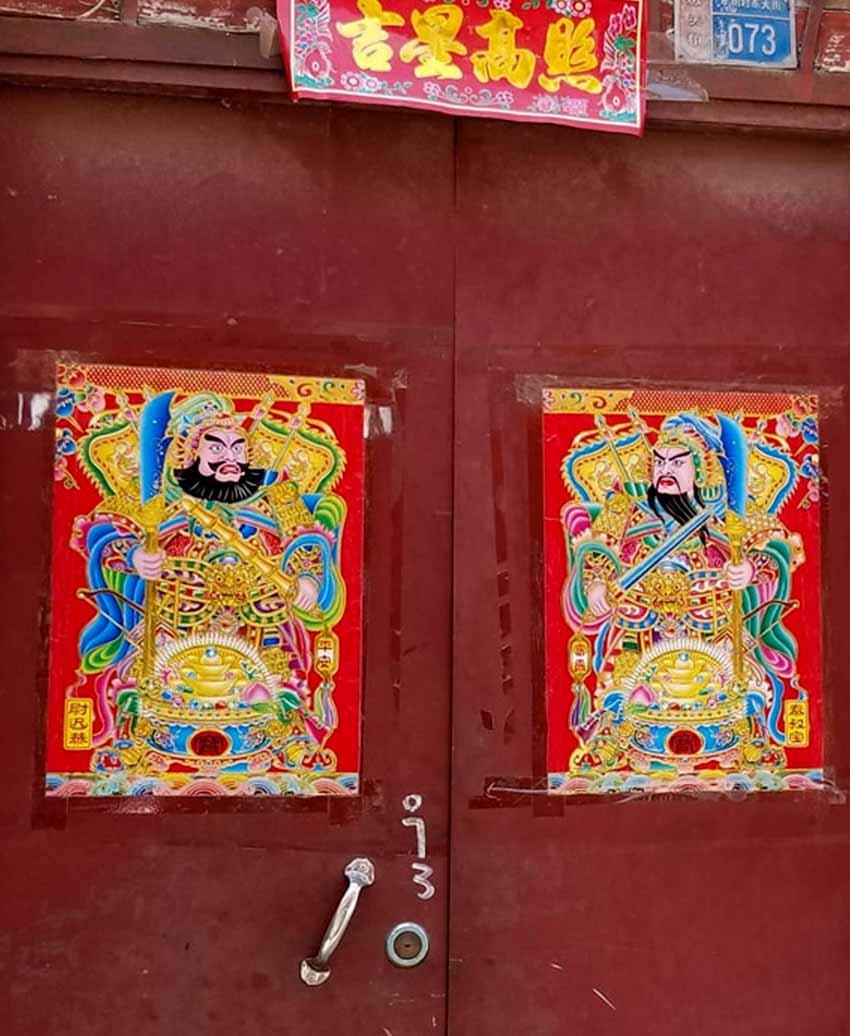 Môn thần trong văn hóa Trung Hoa - 9