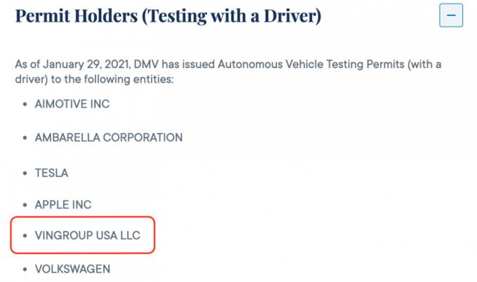 VinFast được cấp phép thử nghiệm xe điện tự hành tại Mỹ - 2