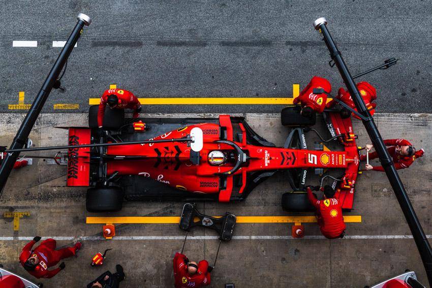 Richard Mille và Ferrari bắt tay trên đường đua F1-1