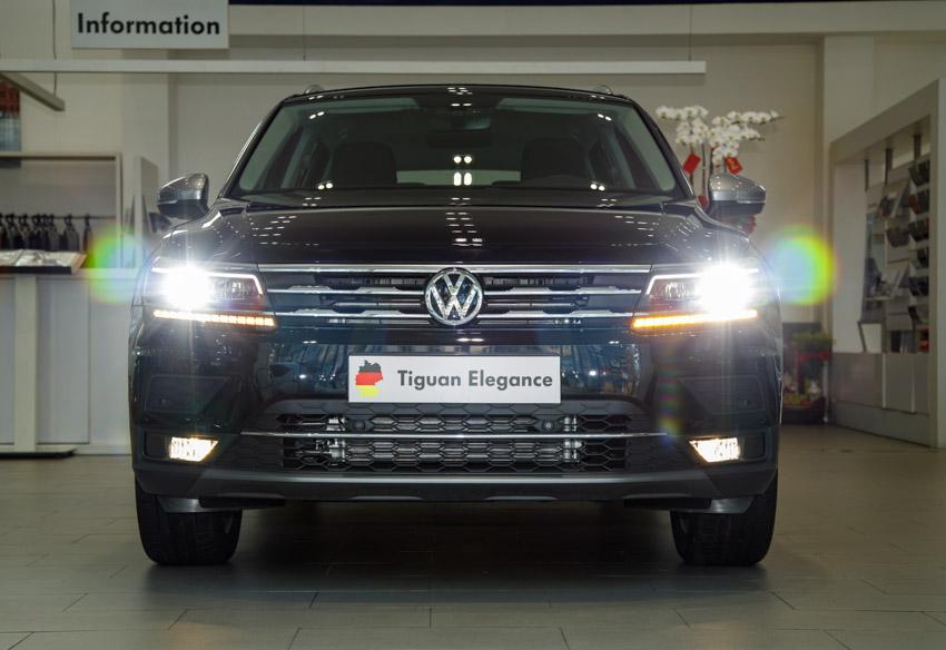 SUV 7 chỗ Volkswagen Tiguan Elegance.