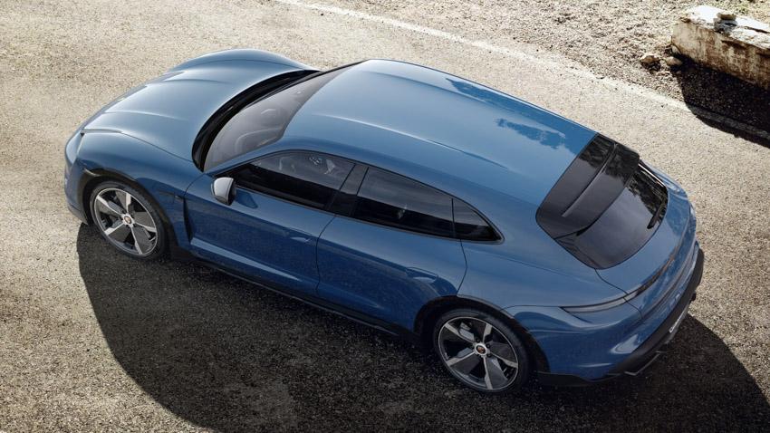 Taycan Cross Turismo - chiếc xe điện thể thao tiếp theo của Porsche - 20