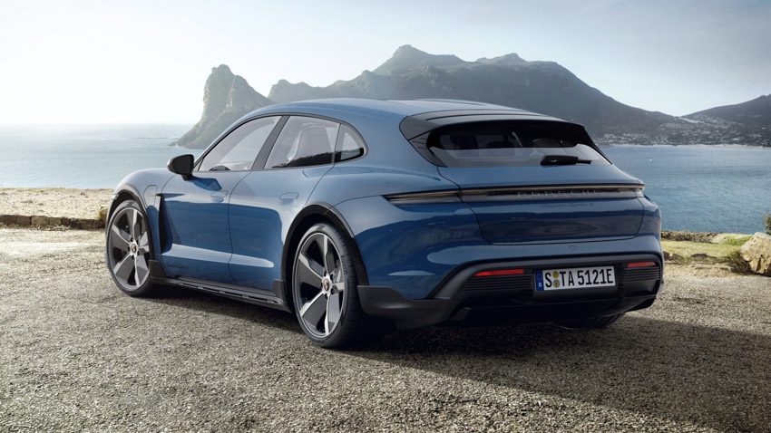 Taycan Cross Turismo - chiếc xe điện thể thao tiếp theo của Porsche-22