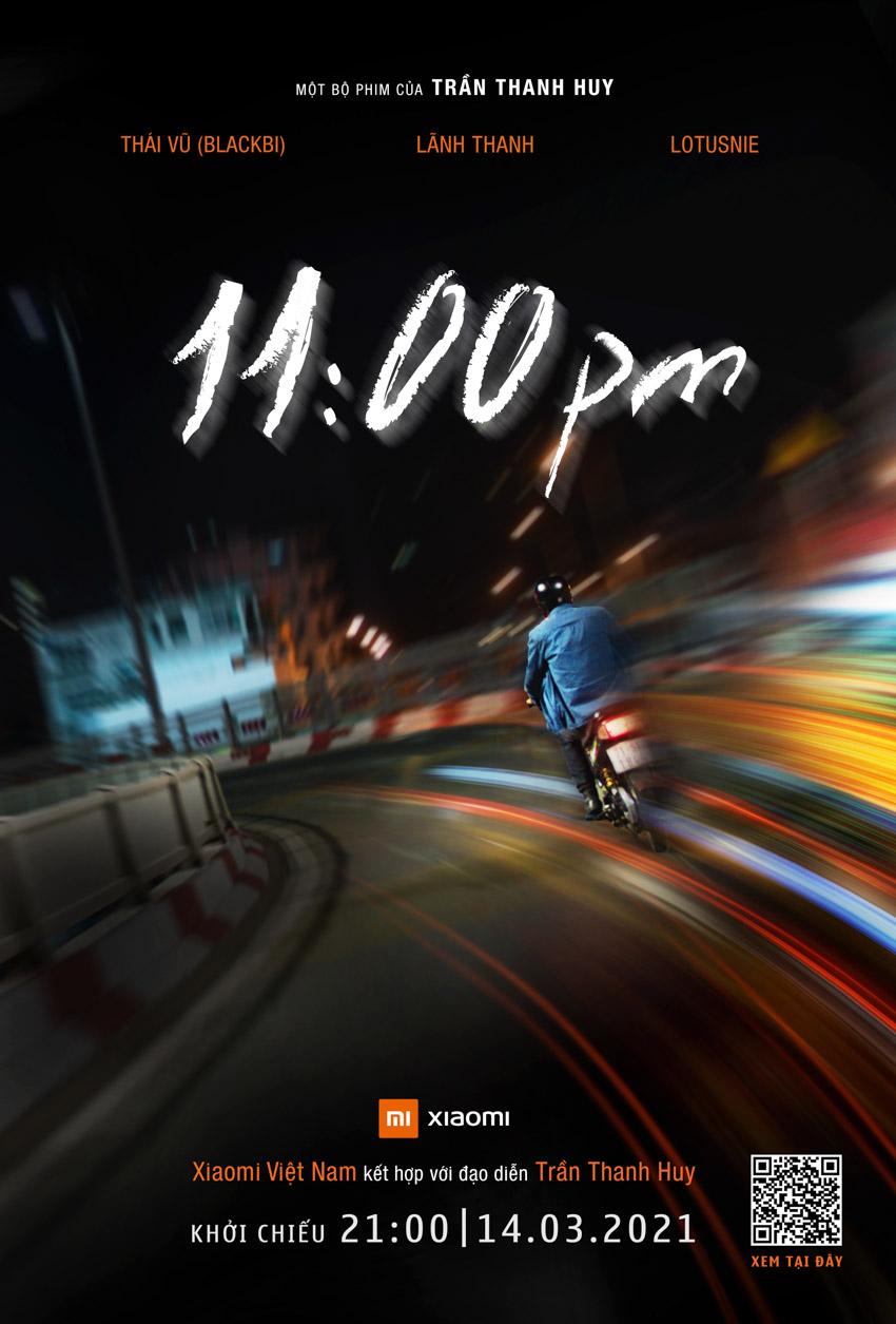 """Xiaomi cùng đạo diễn phim """"Ròm"""" ra mắt phim ngắn """"11:00pm"""" - 2"""