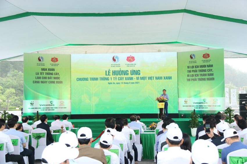 """Toyota Việt Nam cùng Bộ Tài Nguyên & Môi trường phát động Tết trồng cây """"Đời đời nhớ ơn Bác Hồ""""-1"""