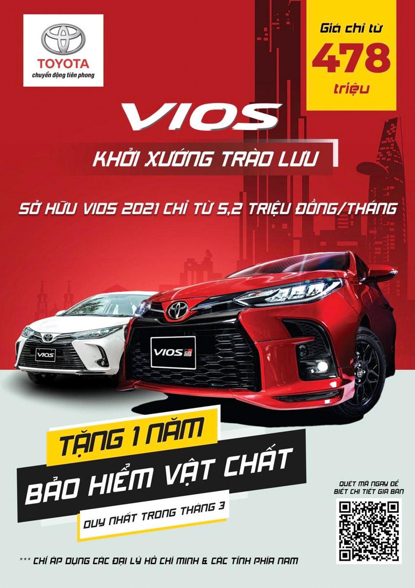 Triển lãm giới thiệu các mẫu xe Toyota Vios phiên bản mới sắp diễn ra tại TP. Hồ Chí Minh-6