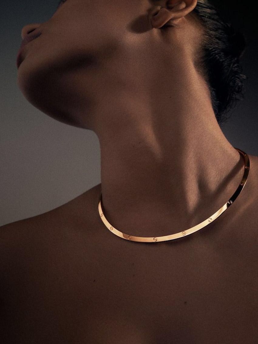 Vòng đeo tay tình yêu mang tính biểu tượng của Cartier giờ đã có dạng vòng cổ - 2