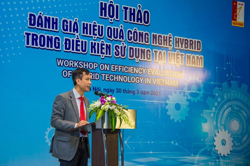 GS-TS Lê Anh Tuấn - Viện trưởng viện cơ khí động lực - Đại học Bách khoa Hà Nội