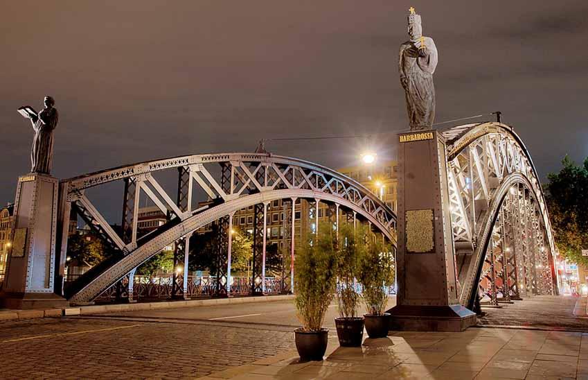 Hamburg, thành phố cầu xinh đẹp - 5