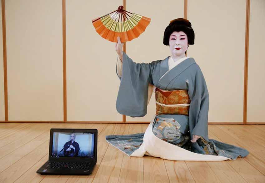 Geisha đấu tranh để sống còn trong bóng tối của coronavirus - 3