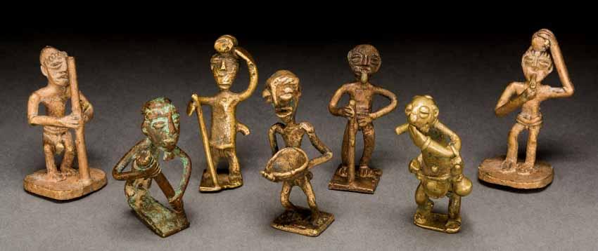 Những quả cân vàng tuyệt đẹp của Ghana - 2