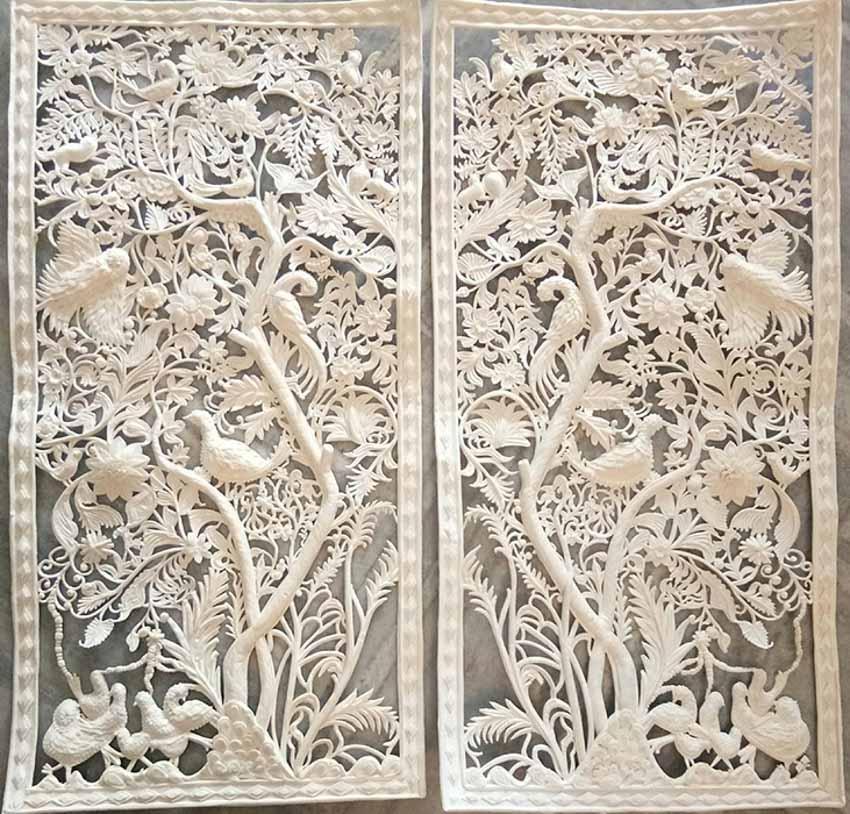 Nghệ phẩm lõi xốp, ruột cây Shola - 21