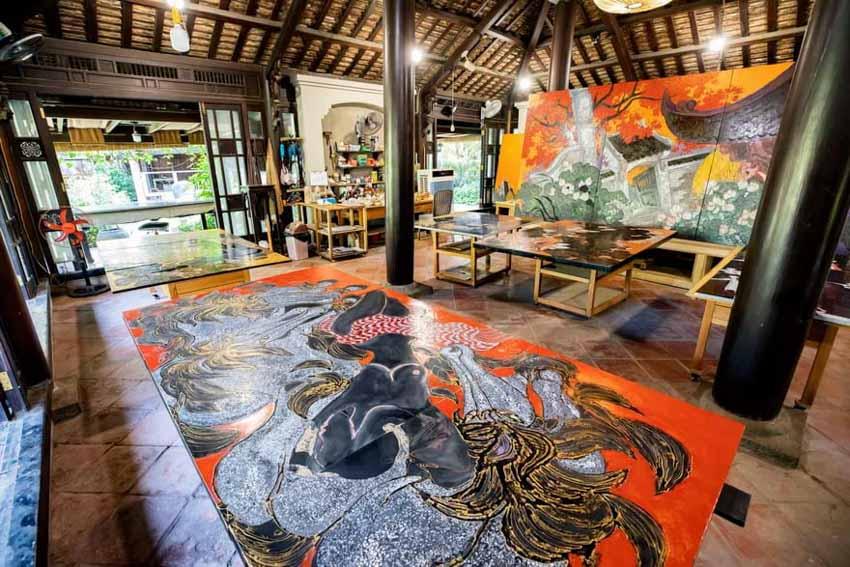 Giấc mơ sơn mài của Nguyễn Hoài Hương - 2