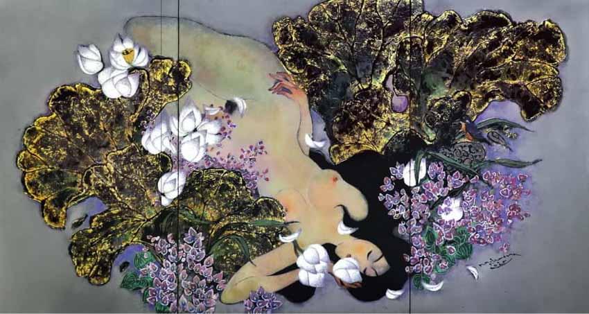 Giấc mơ sơn mài của Nguyễn Hoài Hương - 3
