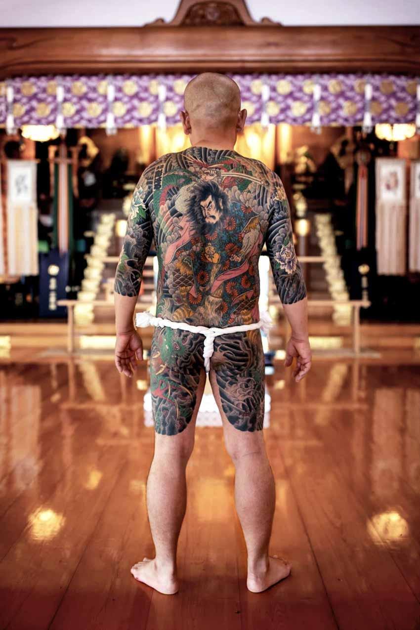 Những hình xăm Horimono được tôn kính ở Nhật Bản - 6