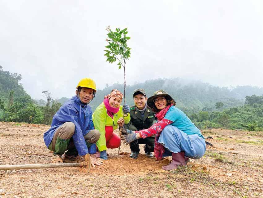 Đỗ Thị Thanh Huyền: Câu chuyện trồng rừng và truyền cảm hứng kết nối - 3
