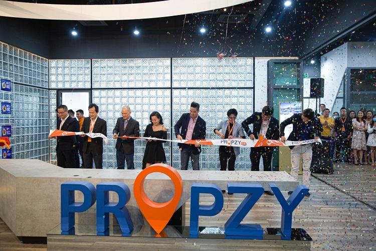 Propzy Hub, một không gian sáng tạo, trẻ trung, nhằm kết nối cộng đồng startup, công nghệ, bất động sản, tài chính… Ảnh: Propzy.