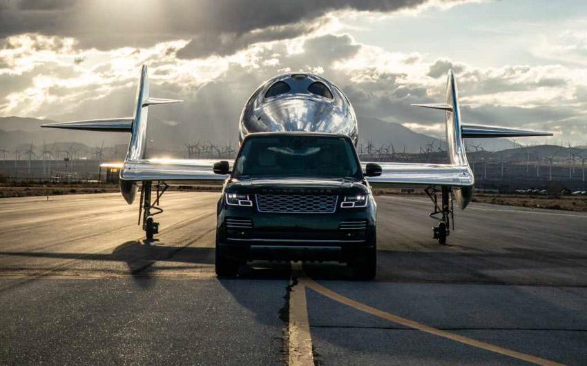 Tàu vũ trụ mới nhất được ra mắt với sự hỗ trợ bởi Range Rover Astronaut Edition - 4