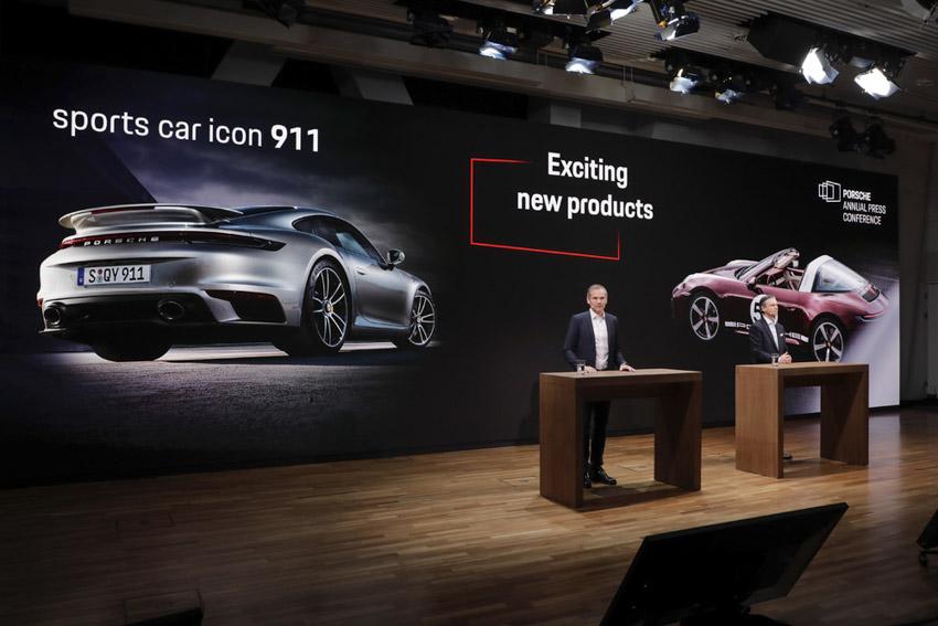 Porsche tăng trưởng bền vững trong năm tài chính 2020 - 2