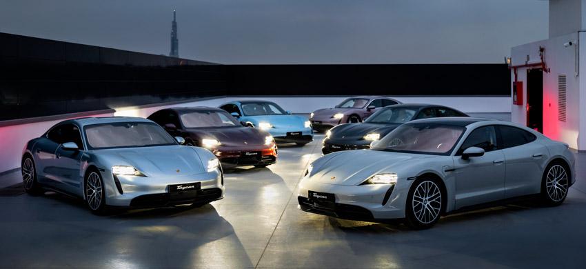 Những chiếc Porsche Taycan đầu tiên dòng xe thuần điện được giao đến khách hàng - 1