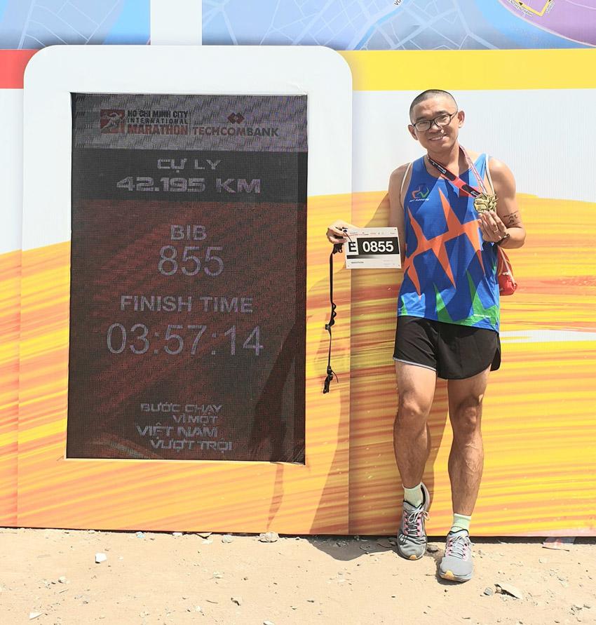 Giải Marathon Quốc tế TP.HCM Techcombank 2021: Tạo nên dòng năng lượng vượt trội - 12