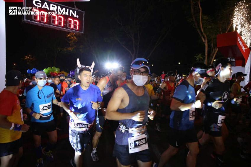 Giải Marathon Quốc tế TP.HCM Techcombank 2021: Tạo nên dòng năng lượng vượt trội - 15