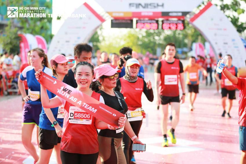 Giải Marathon Quốc tế TP.HCM Techcombank 2021: Tạo nên dòng năng lượng vượt trội - 6