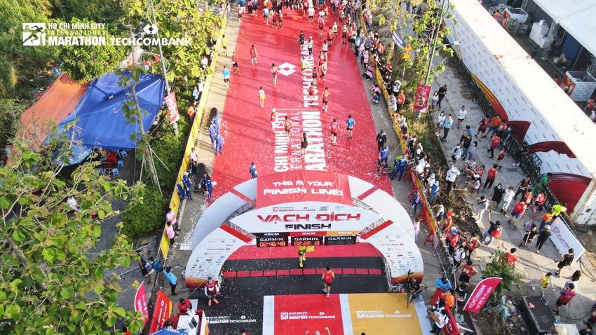 Giải Marathon Quốc tế TP.HCM Techcombank 2021: Tạo nên dòng năng lượng vượt trội - 7