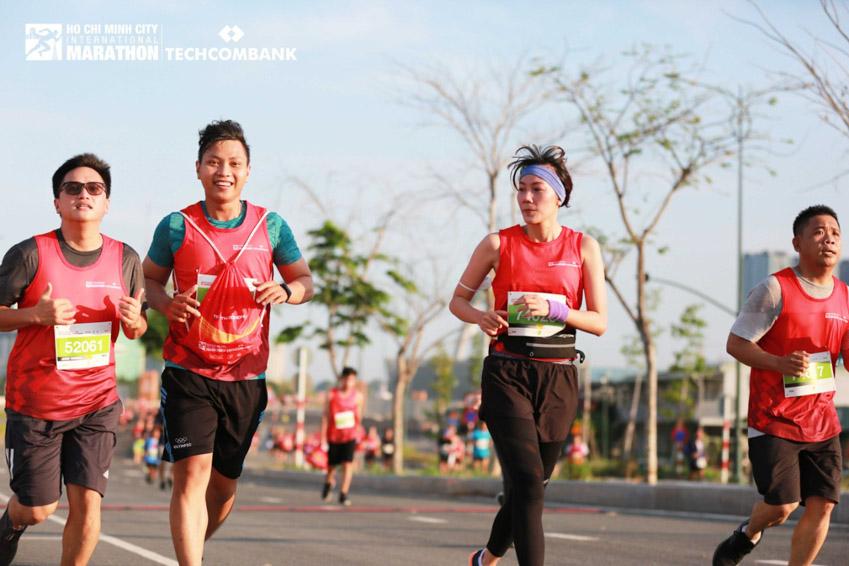 Giải Marathon Quốc tế TP.HCM Techcombank 2021: Tạo nên dòng năng lượng vượt trội - 9