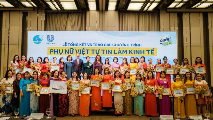 Unilever Việt Nam hỗ trợ 1 triệu phụ nữ Việt tự tin làm kinh tế đến năm 2025 - 8