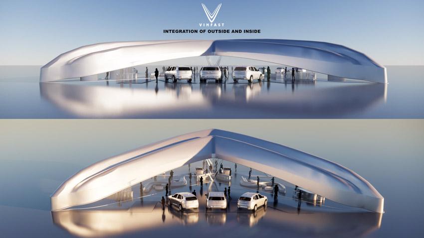Công bố kết quả cuộc thi thiết kế showroom vinfast toàn cầu 2021 - 1