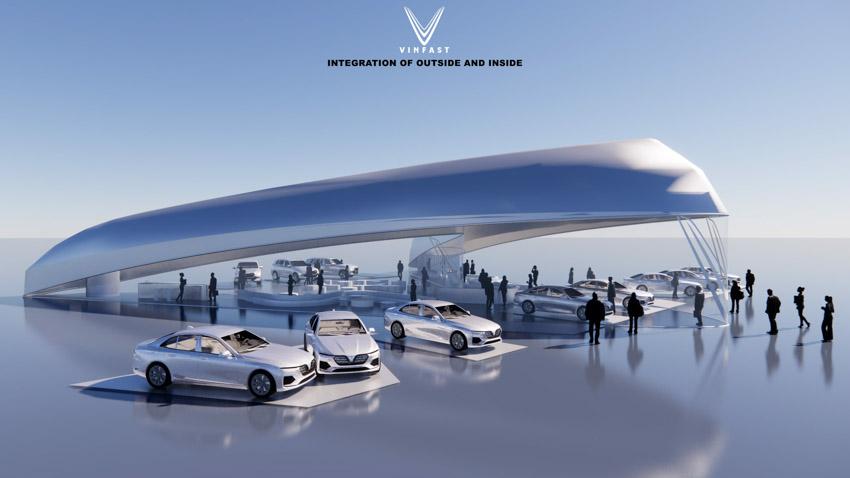 Công bố kết quả cuộc thi thiết kế showroom vinfast toàn cầu 2021 - 3