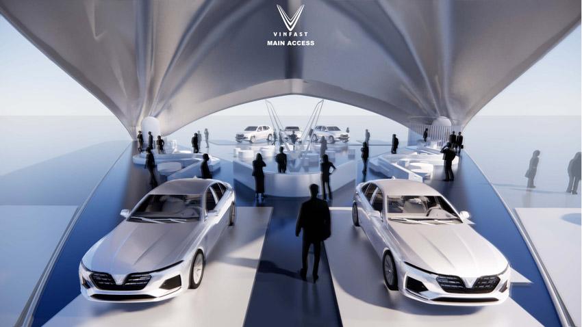 Công bố kết quả cuộc thi thiết kế showroom vinfast toàn cầu 2021 - 4