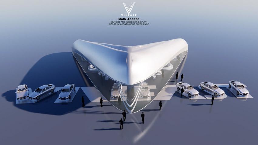 Công bố kết quả cuộc thi thiết kế showroom vinfast toàn cầu 2021 - 5