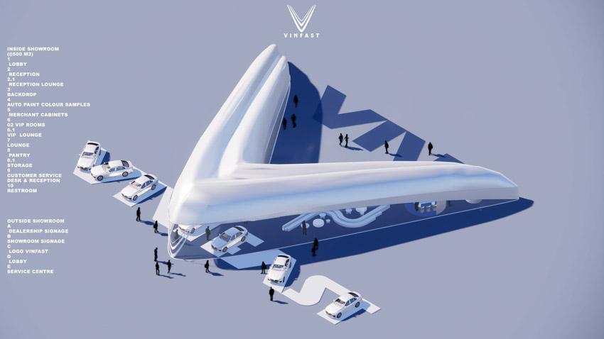 Công bố kết quả cuộc thi thiết kế showroom vinfast toàn cầu 2021 - 7