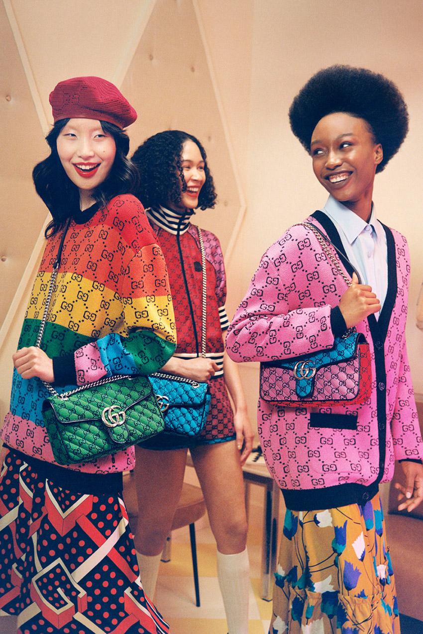 Gucci tái hiện monogram mang tính biểu tượng cho bộ sưu tập GG Multicolor - 9