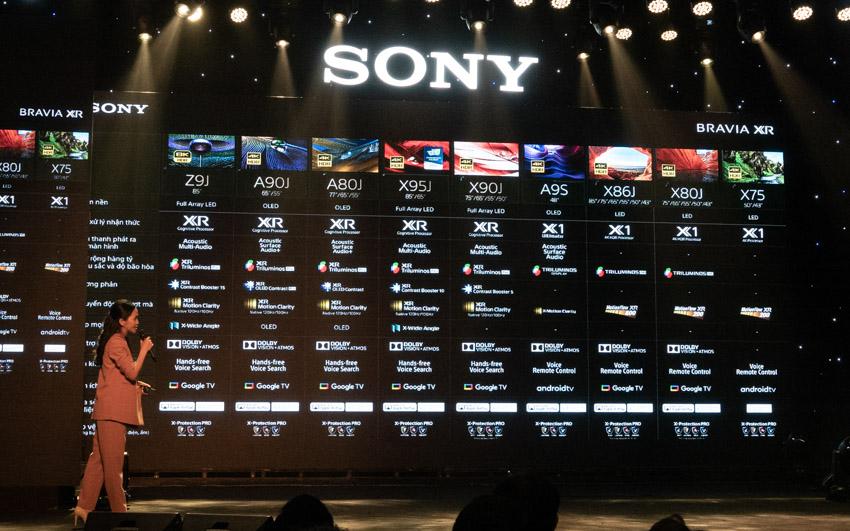 Sony Việt Nam ra mắt thế hệ TV BRAVIA XR 8K LED, 4K OLED và 4K LED-19