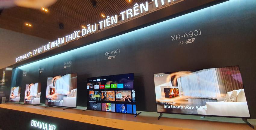 Sony Việt Nam ra mắt thế hệ TV BRAVIA XR 8K LED, 4K OLED và 4K LED - 4