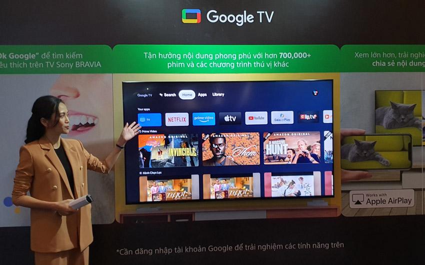 Sony Việt Nam ra mắt thế hệ TV BRAVIA XR 8K LED, 4K OLED và 4K LED - 6
