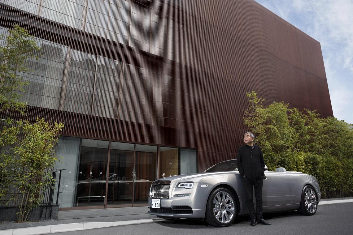 Ông Gavin Hartley, Trưởng Bộ phận Thiết kế Bespoke, Rolls-Royce Motor Cars