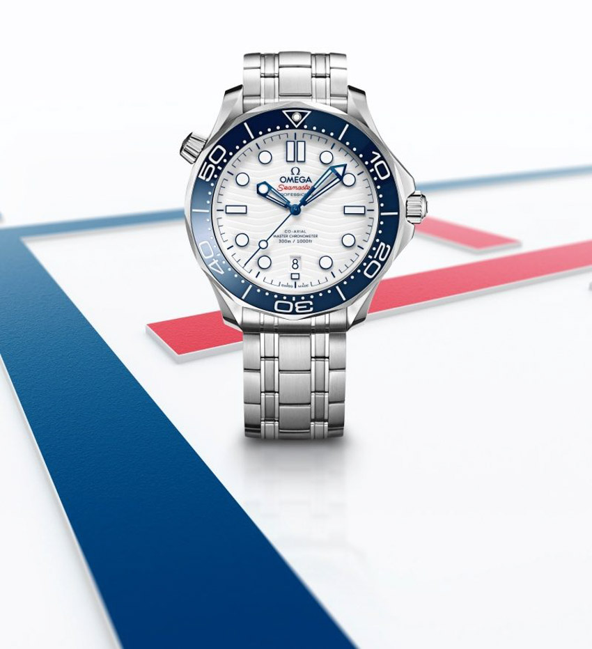 Omega ra mắt đồng hồ Seamaster Diver 300M Tokyo 2020 dành riêng cho thế vận hội Olympic - 01