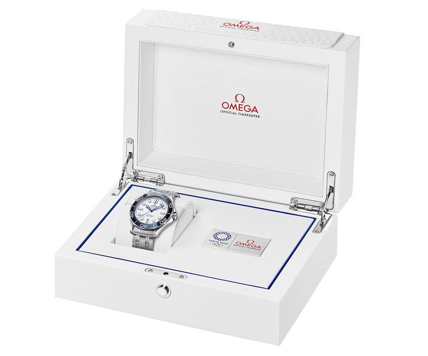 Omega ra mắt đồng hồ Seamaster Diver 300M Tokyo 2020 dành riêng cho thế vận hội Olympic - 04