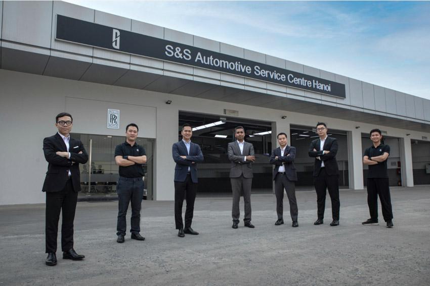Cơ sở dịch vụ Rolls-Royce Motor Cars tại Hà Nội hoàn thiện việc nâng cấp - 2