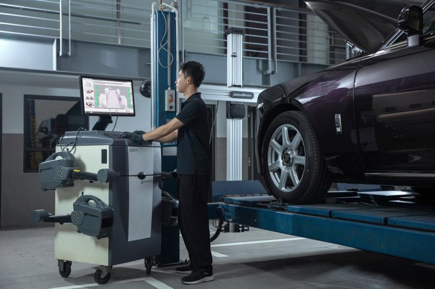 Cơ sở dịch vụ Rolls-Royce Motor Cars tại Hà Nội hoàn thiện việc nâng cấp - 3