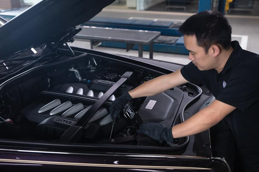 Cơ sở dịch vụ Rolls-Royce Motor Cars tại Hà Nội hoàn thiện việc nâng cấp - 6