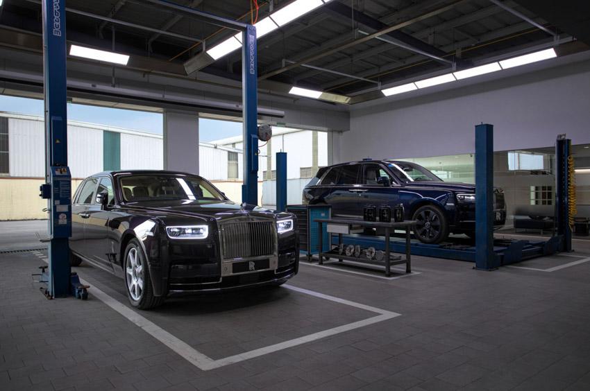 Cơ sở dịch vụ Rolls-Royce Motor Cars tại Hà Nội hoàn thiện việc nâng cấp - 7