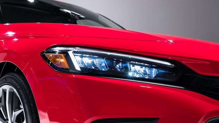 Cận cảnh Honda Civic 2022 trở lại với kiểu sedan truyền thống - 14